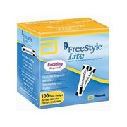 FS:Freestyle Lite Blood Glucose Test Strips - 50 Ct ...$10